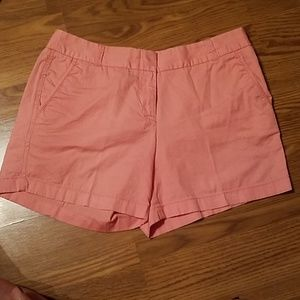 J. Crew sz 10 peach front back pockets